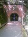 国道1号(東海道、五条通)の東山トンネル、歩行者用