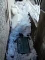 水道メーターを発掘