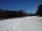大原っぱはまだ雪景色
