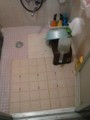 風呂場マット導入