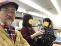 鎌倉霊園にて