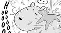 カピバラとイルカの奇妙な生活_カピバラ_水浴