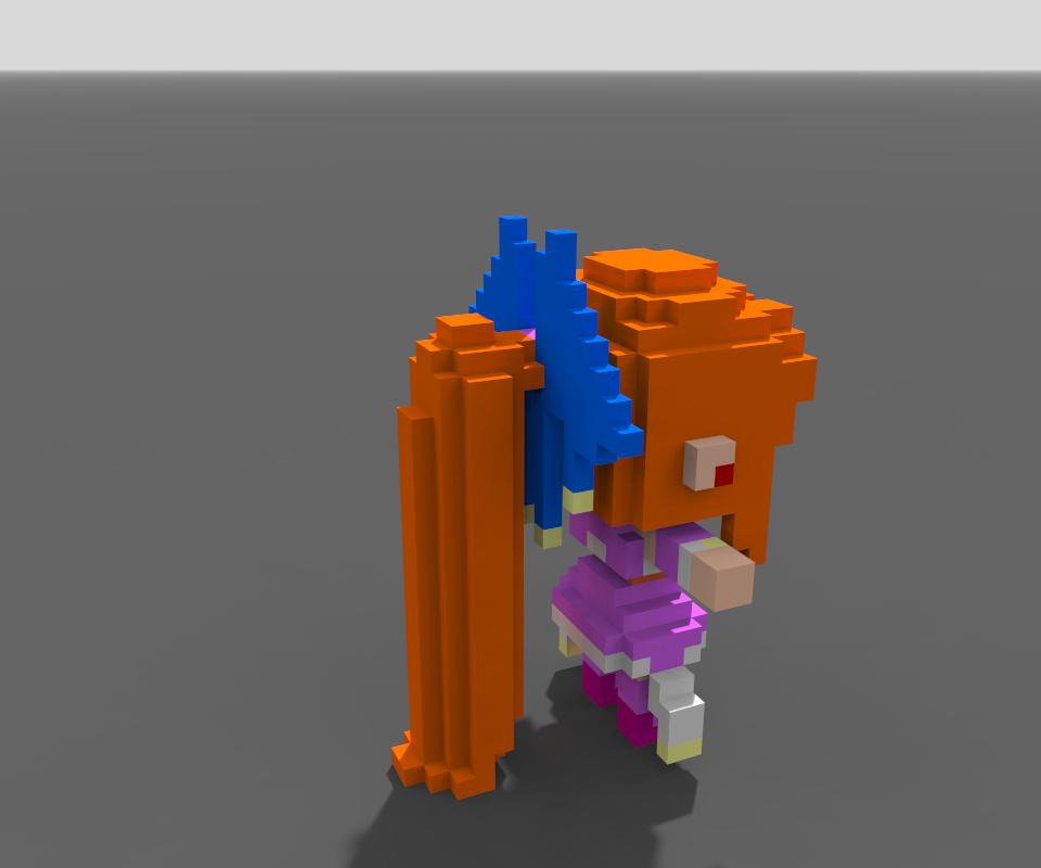 MagicaVoxel オリジナルボクセルモデル
