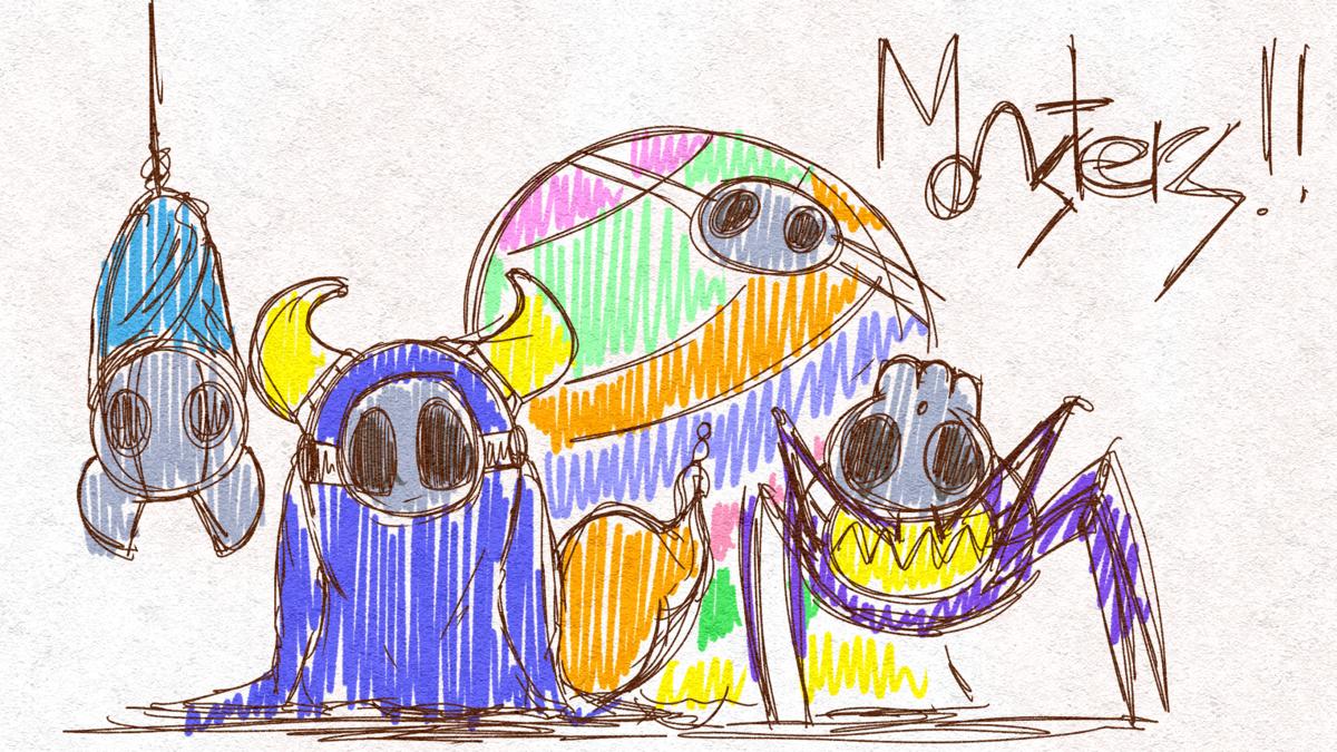 自主制作アニメ「MONSTERS!!」
