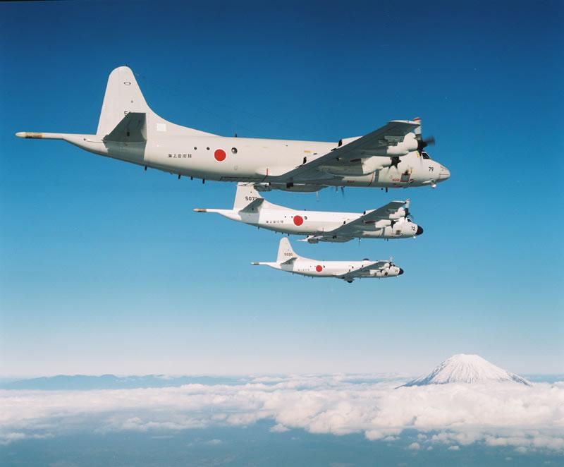 日本が誇る世界一の対潜能力・P-3C哨戒機は支那・ロシアの潜水艦を ...