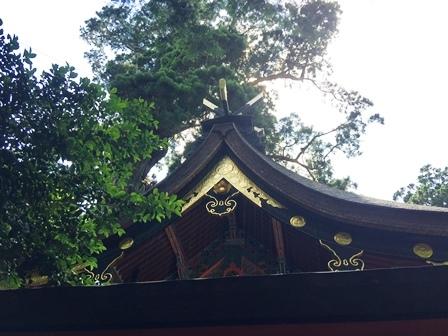 鹿島神宮千木