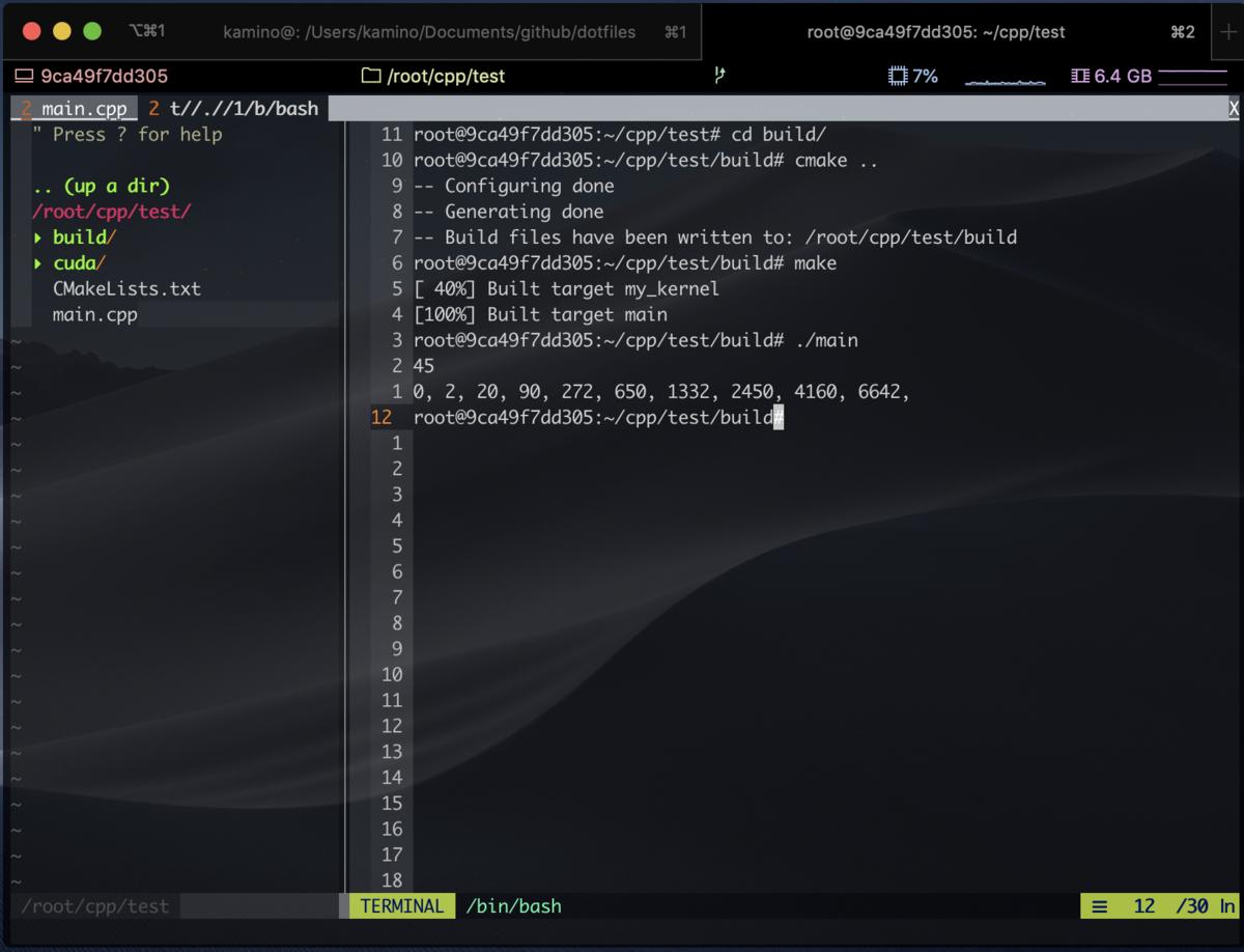 iTerm2+NeoVimに定住するためにやったこと - かみのメモ