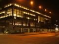 夕方の大学図書館