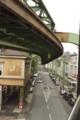 [モノレール][線路写真][Wuppertaler Schwebebahn]Vorwinkel