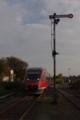 [Billerbeck][鉄道]腕木式信号機と列車