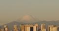 [Gimp][帰省][Tokyo]羽田空港から見る富士山