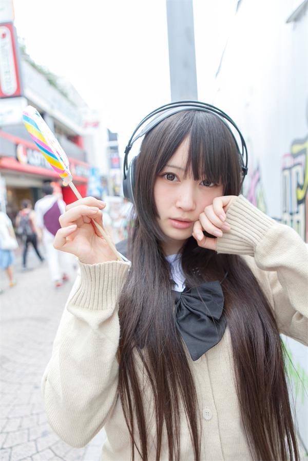 マンガ アニメ 好き 御伽ねこむ コミケ コスプレイヤー ツインテール ミニスカート