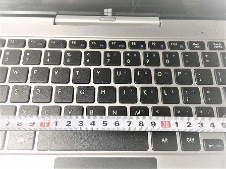 Jumper EZpad レビュー評価 キーボード