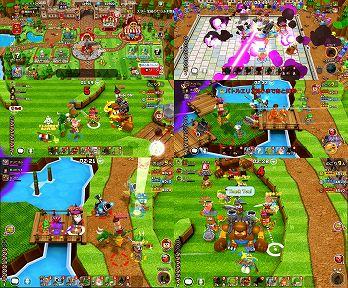 ガンビッドのゲームプレイ画面