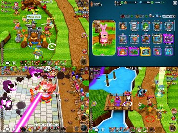 ガンビットのゲームプレイ画像