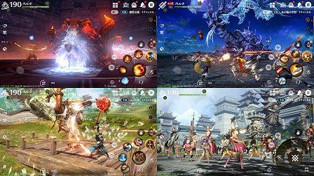 ブレイドアンドソウル レボリューション ゲームプレイシーン画像