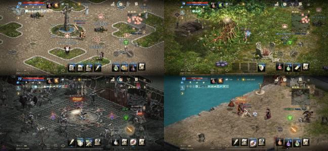 リネージュMのゲームプレイ画像2