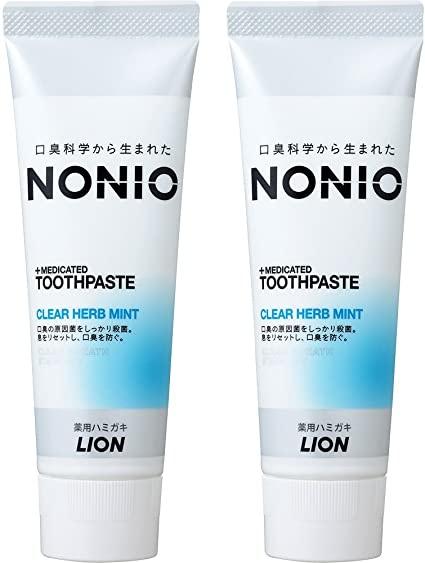 NONIO(ノニオ) [医薬部外品] ハミガキ クリアハーブミント