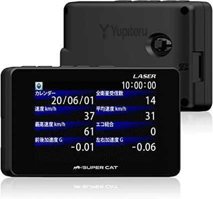 ユピテル レーザー光対応レーダー探知機