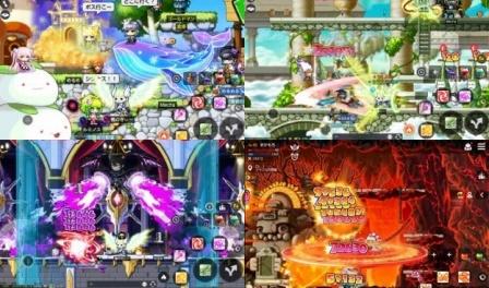 メイプルストーリーMのゲームレビュー画像1