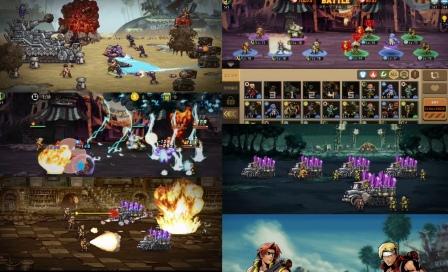 METAL SLUG : COMMANDERメタルスラッグコマンダーのゲームレビュー画像