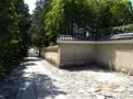 京都新聞写真コンテスト 人影の無い石畳と築地塀