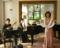 横浜イギリス館 歌とマンドリンのライブ Valentine出演者トリオ