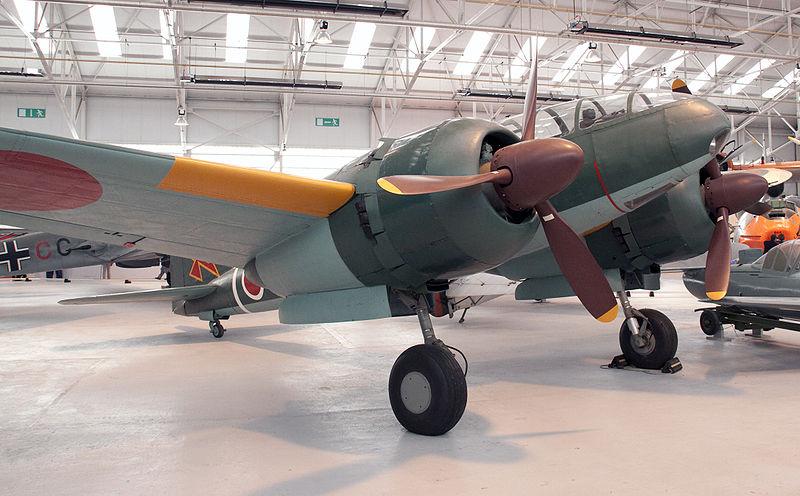 コスフォードのイギリス空軍博物館に今も展示されている百式司令部偵察機III型