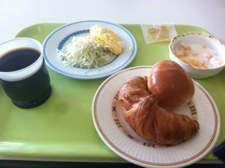 広大生協食堂朝食