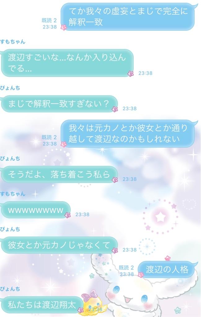 彼女 渡辺 翔太