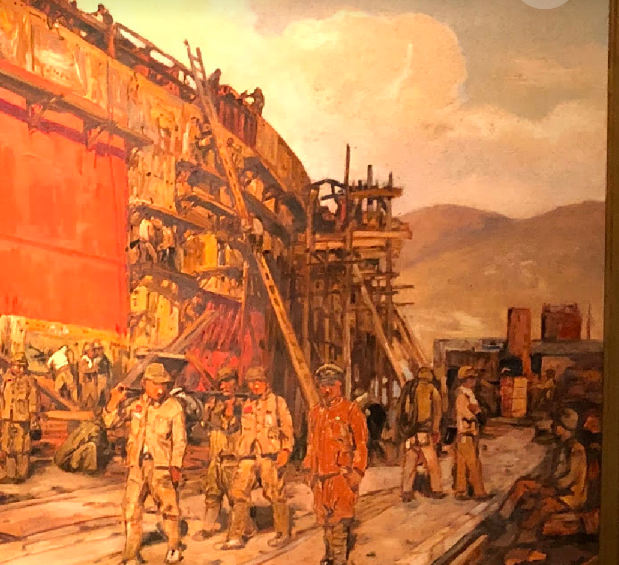 吉田博 播磨造船所
