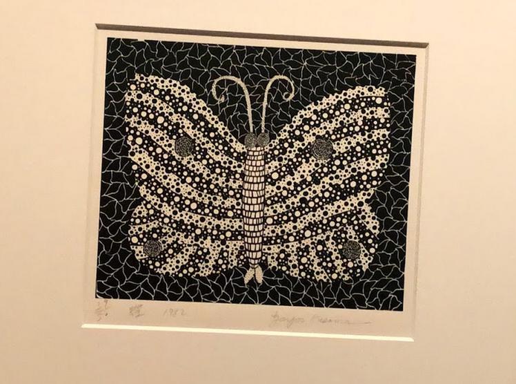 草間彌生 蝶