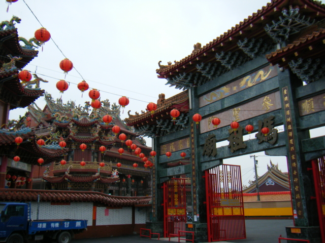 TTLへ行く途中で見つけた媽祖廟