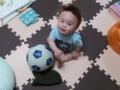 140523サッカーボールさんコロコロ