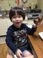 171014 バームクーヘン食べる!