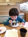 180121茶碗蒸し自分で食べれるもんね
