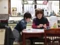 180212おばーちゃんとコマ遊び