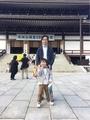 181102成田山で仮面ライダージオウのポーズ