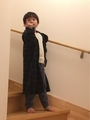 181113母のパジャマをコートのように着るジオウ