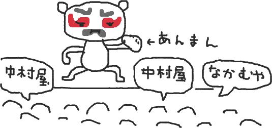 中村は俺だしぃいい((殴