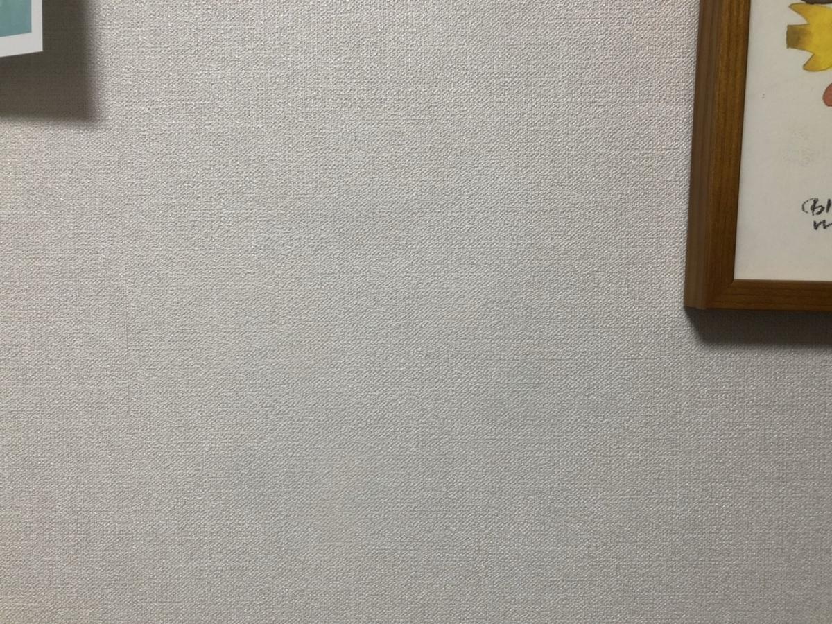 COPICで汚れた壁紙_クロスタッチを塗ったあと