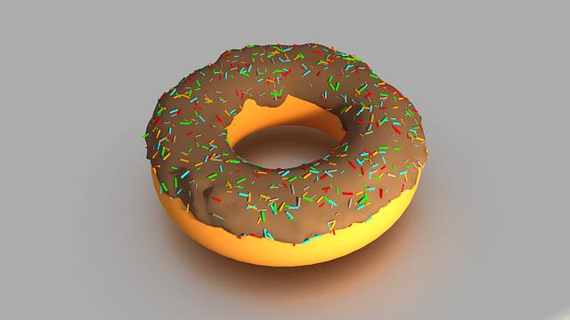 ドーナツ チョコ