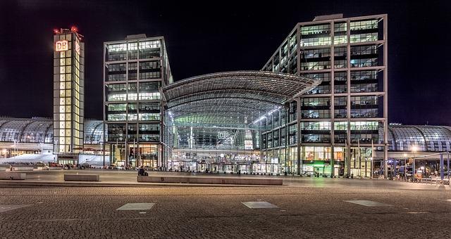 中央駅 ベルリン ドイツ