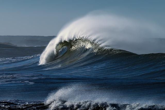 波 ビーチ 海