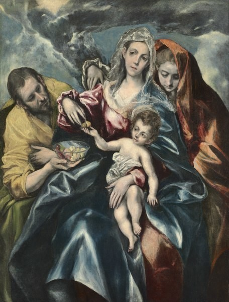 The Holy Family with Mary Magdalen