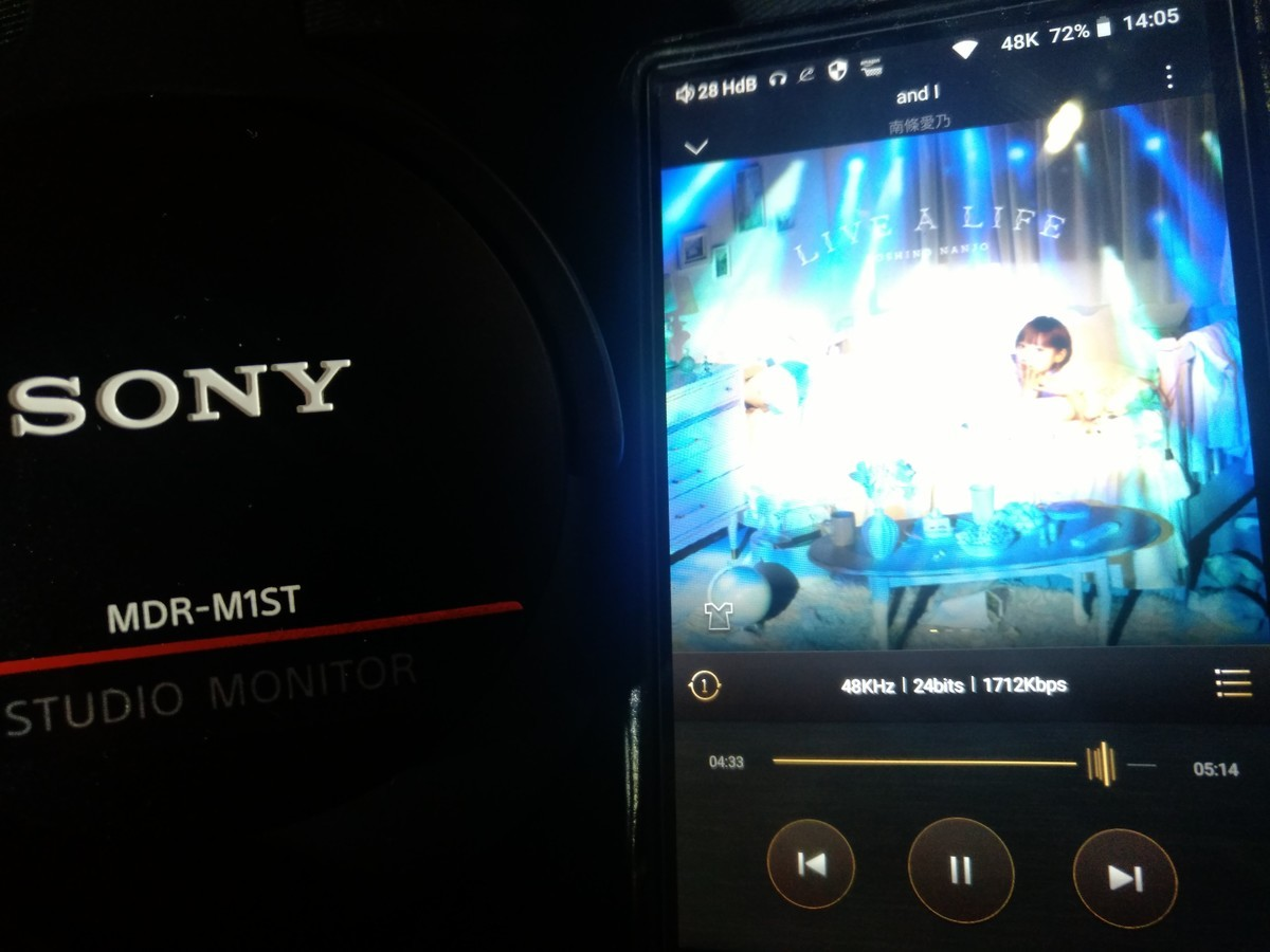 SONY MDR-M1ST