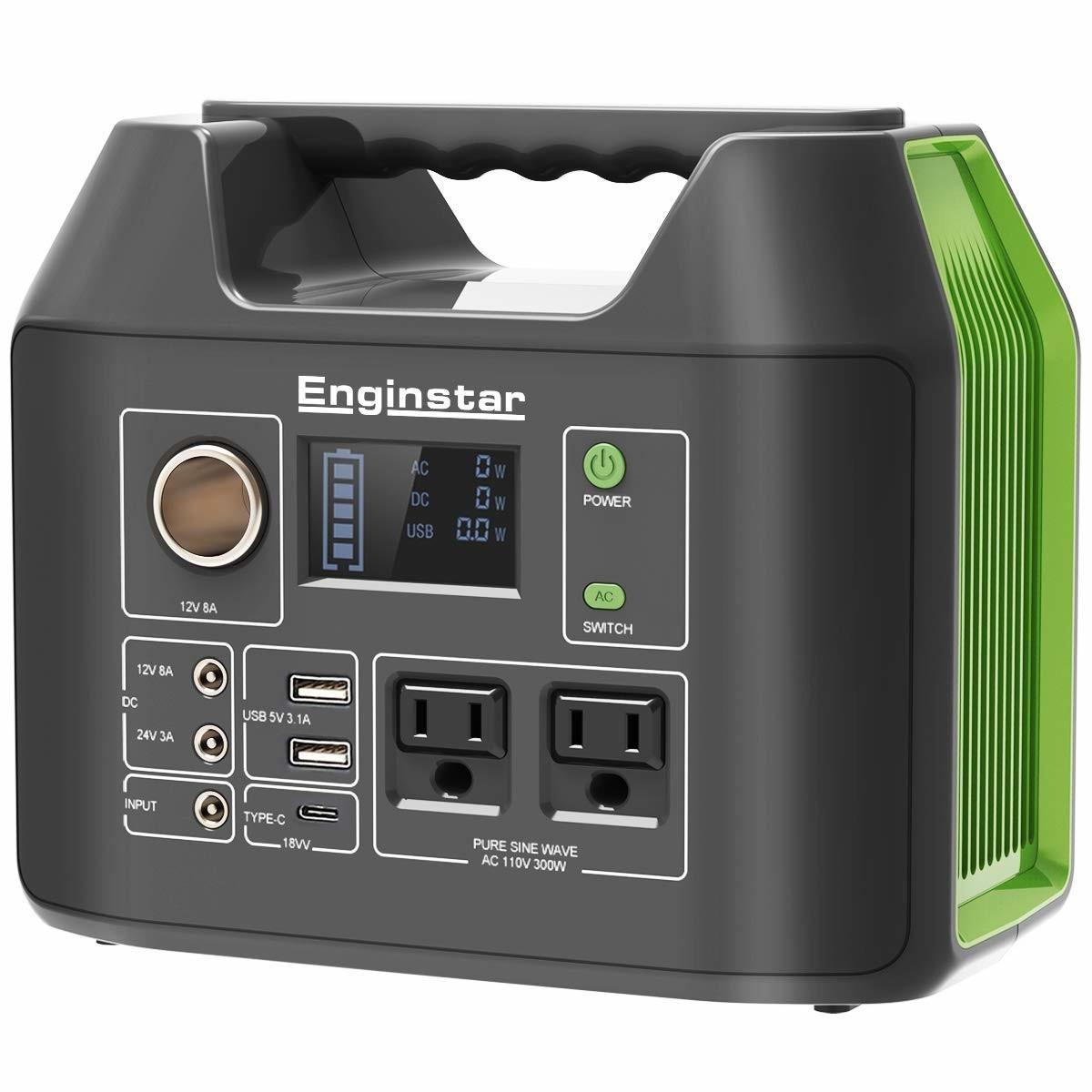 Enginstar ポータブル電源 110000mAH/407Wh