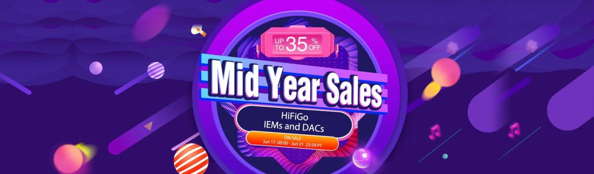 6.18 HiFiGo Mid year sale!!