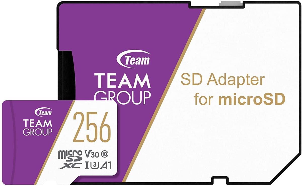 TeamのPC用メモリとASUSコラボメモリmicroSDとSSD製品などがお買い得