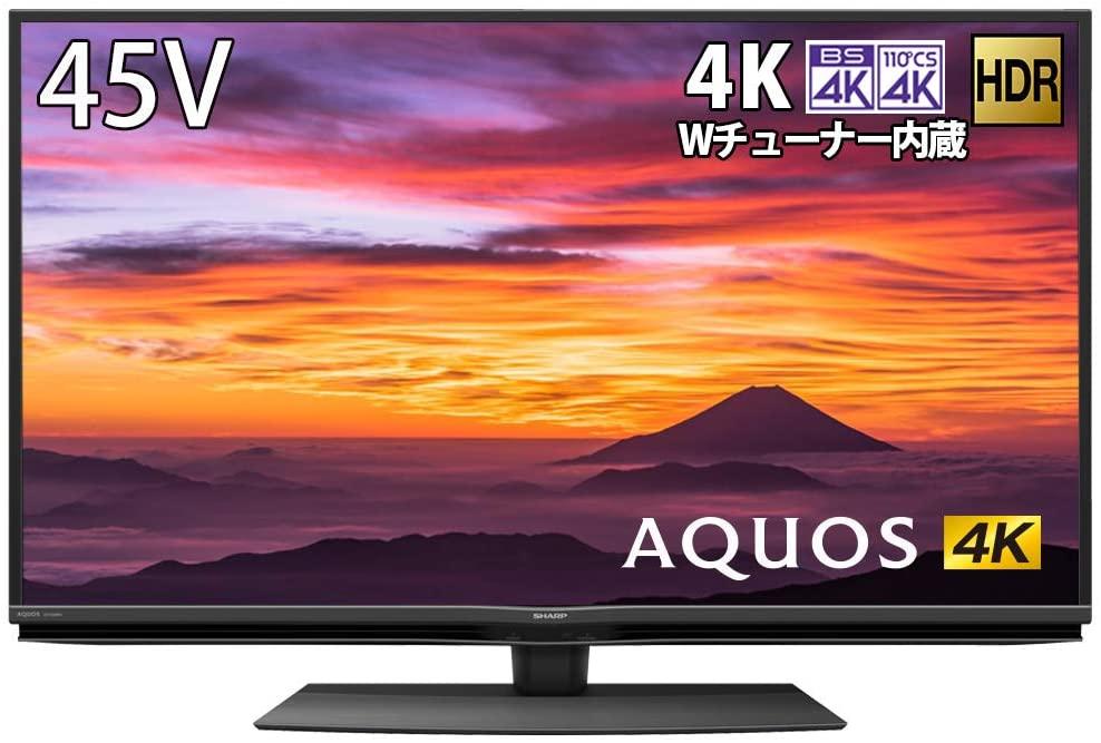 SHARP 4K チューナー内蔵 液晶 テレビ AQUOS 45V型 4T-C45BN1